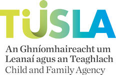 TUSLA Child and Family Agency logo